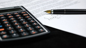 Document and Calculator for taxes