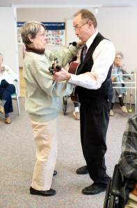 alzheimer's care programming includes fun and games